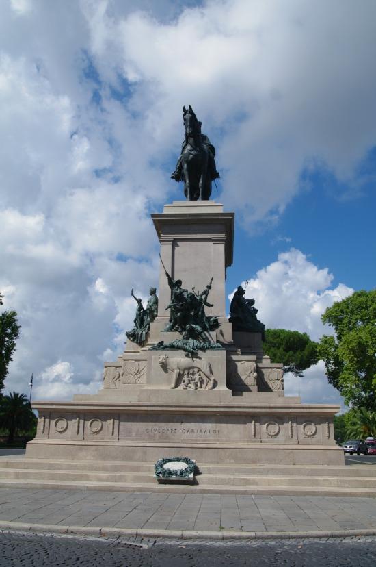 estatua-garibaldi-roma