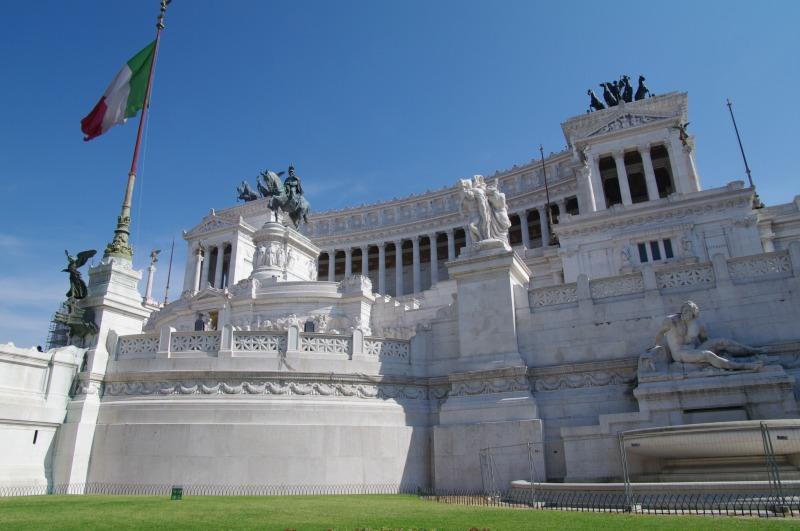 terraço panorâmico em roma