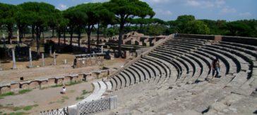 ostia antiga perto de Roma