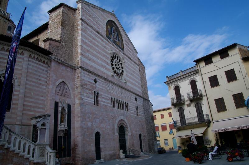 cidade italiana de foligno na umbria