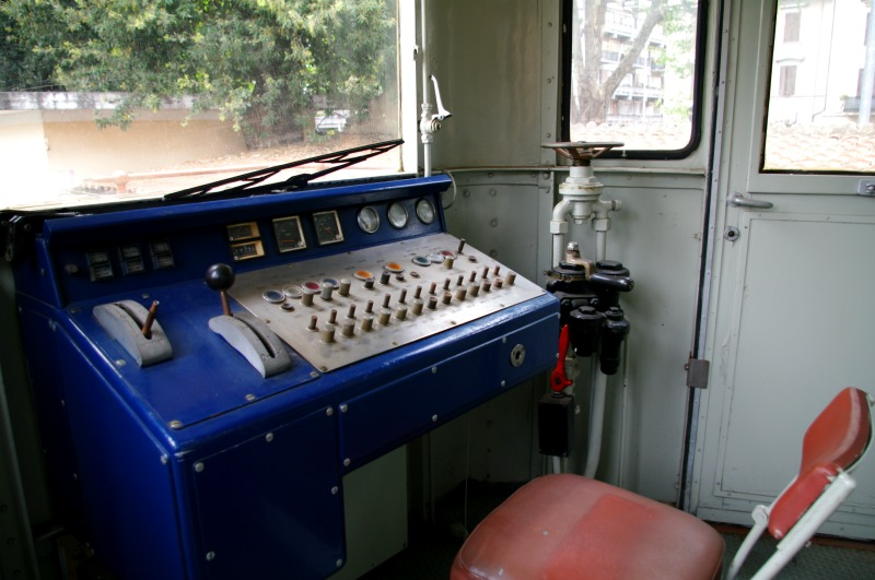vagão do museu ferroviário