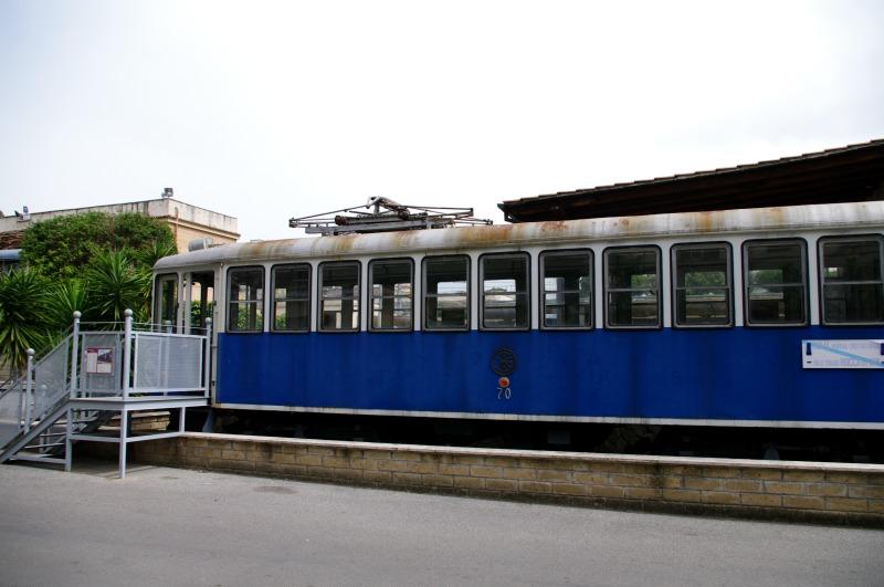 trens antigos em roma