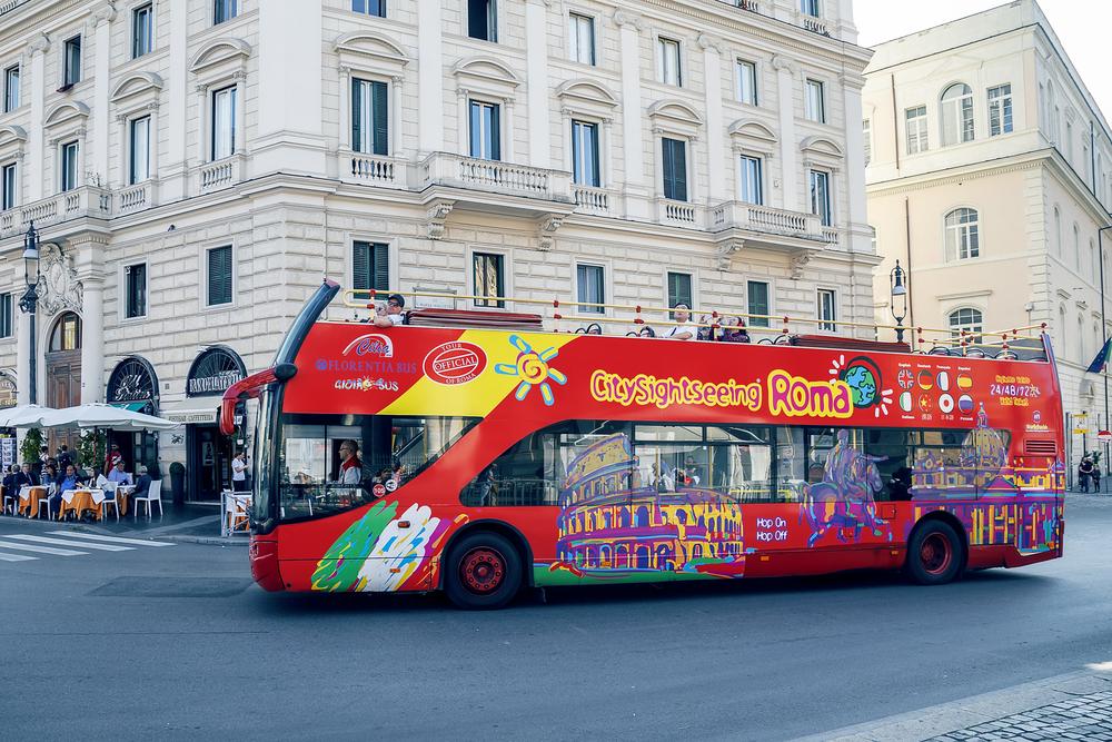 06fdbf972 Passeio de ônibus turístico em Roma | Roma Pra Você