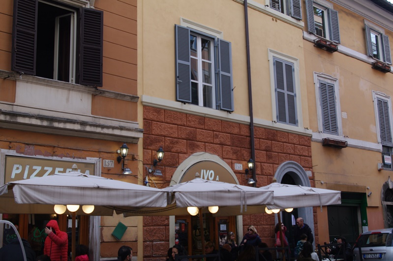 massas e pizzas no bairro Trastevere