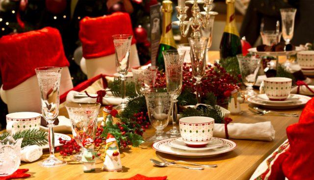 mesa de natal em roma
