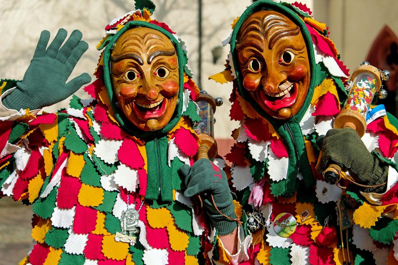 baile de carnaval em roma