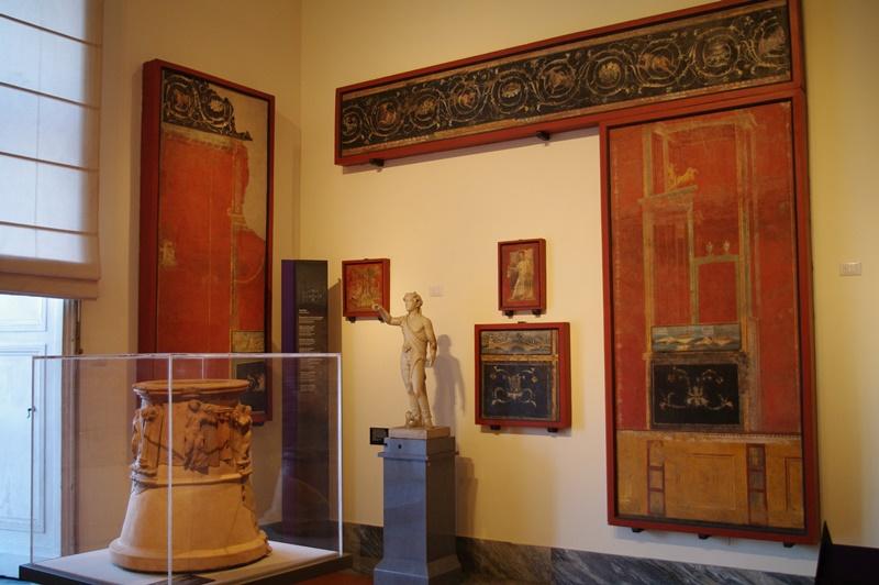 afrescos de pompeia