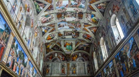 capela sistina teto