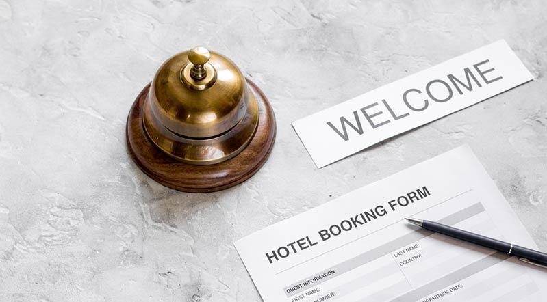 hospedagem documentos para viajar para a italia