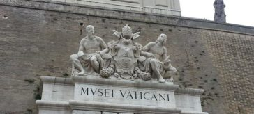 museus do vaticano fachada