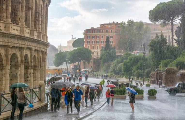 roma em novembro clima