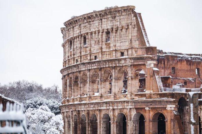 roma em fevereiro